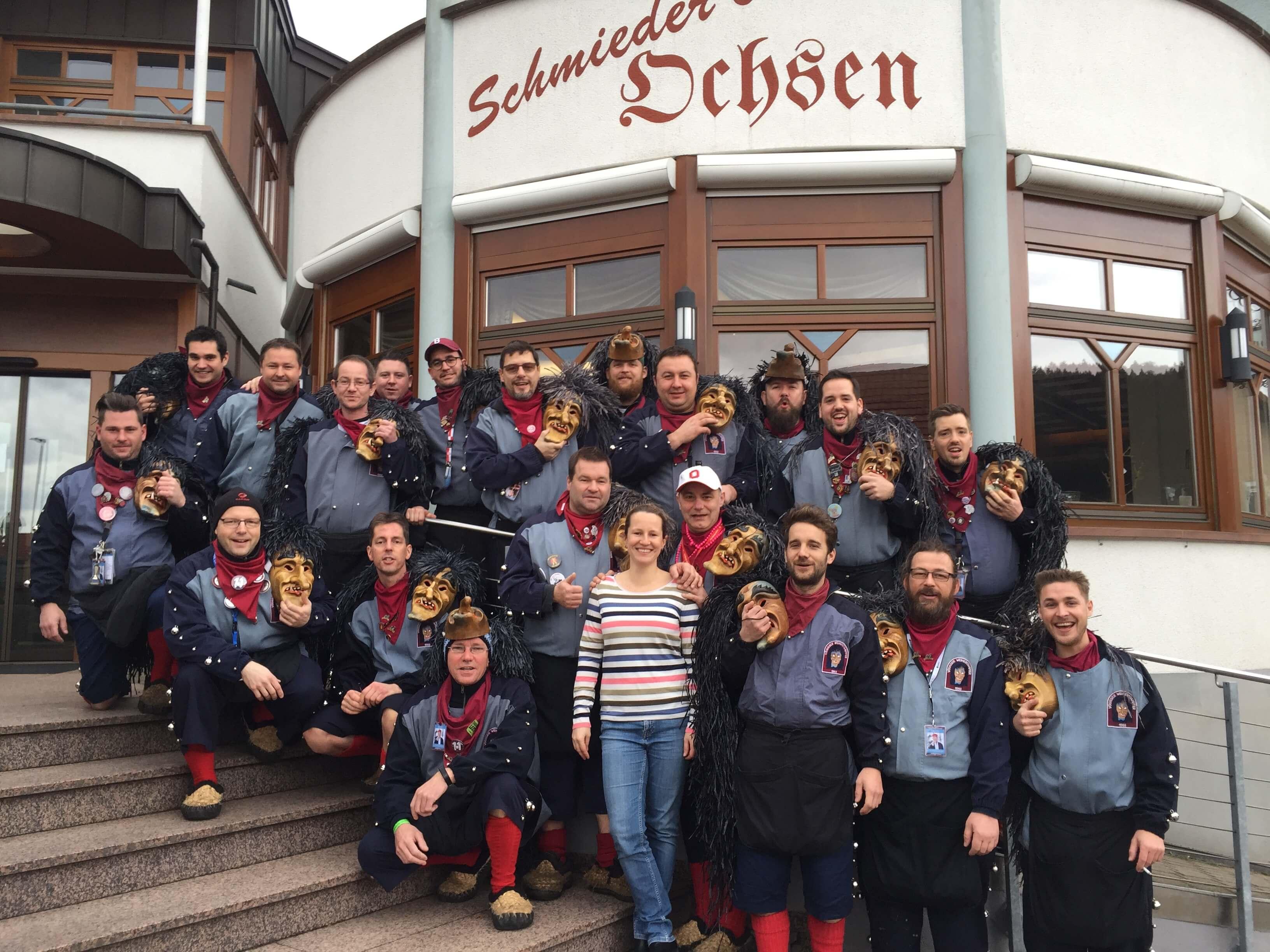 Gruppe-schwarzwald-hotel-pension-schmieders ochsen