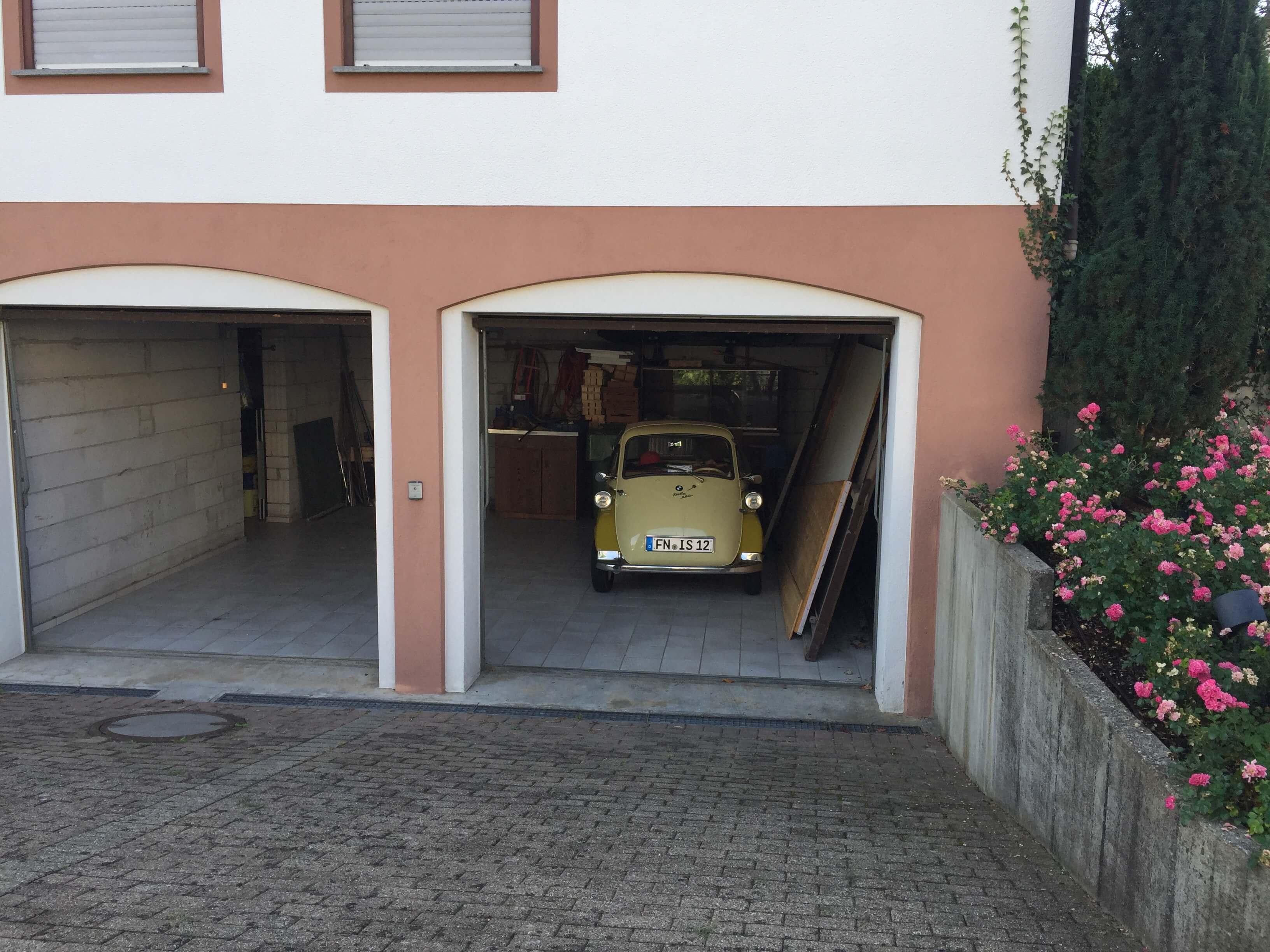 Garage für Motorräder-Schwarzwald-Elsass-Hotel-Pension-Ochsen